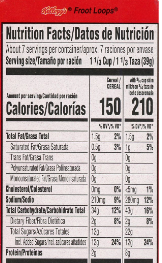 The new food label kicks in at long